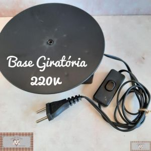 220 V - BASE GIRATÓRIA