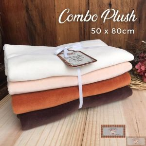 COMBO BICHINHOS VI - PLUSH RAPOSAS - 4 CORTES (50X80CM)