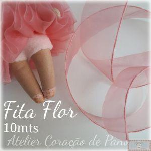 FITA FLOR 10MT - ROSA (PARA TUTU DE BAILARINA)
