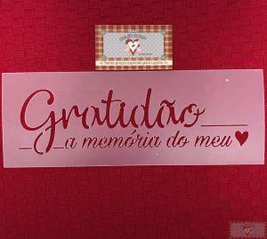 GABARITO GRATIDÃO