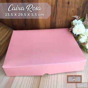 CAIXA PARA PEÇAS ESPECIAL ROSA - 23,5 X 29,5 X 5.5 cm (1UN)