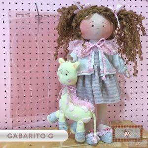 GABARITO PARA CORPINHO BEST FRIENDS G - 45CM