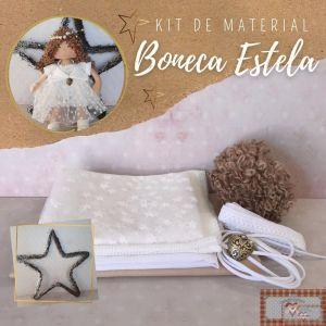 BONECA ESTELA - KIT DE MATERIAL (SEM PROJETO)
