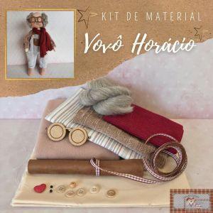 VOVÔ HORÁCIO - KIT DE MATERIAL (SEM PROJETO)