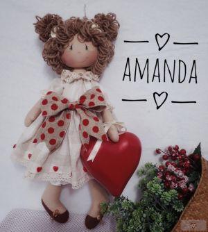 Projeto Via Correio - Boneca Amanda