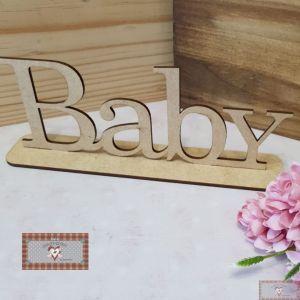 "PALAVRA ""BABY"" - (21 X 5 CM)"