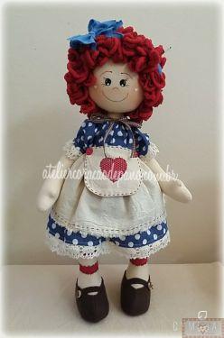 Projeto Via Correio - Boneca Annie