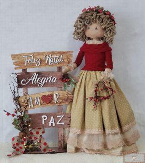 Projeto Via Correio - Boneca Antonieta