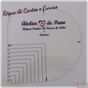 RÉGUA CANTO CAIXA DE LEITE E CURVAS