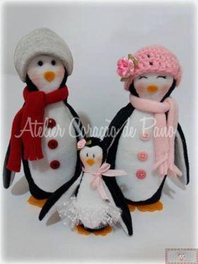 Projeto Digital - Família de Pinguins