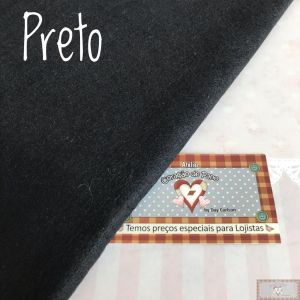 FELTRO SANTA FÉ - PRETO (COR 34) - 50 X 140 CM