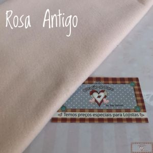 FELTRO SANTA FÉ - ROSA ANTIGO (50 X 140 CM)