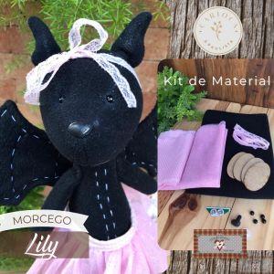 MORCEGO LILY - KIT DE MATERIAL (SEM PROJETO!)