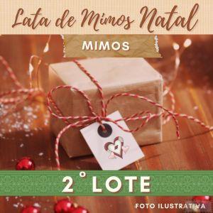 2º LOTE - LATA MIMOS DO❤ - ESPECIAL NATAL