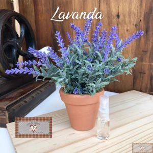 COMBO LAVANDA 3 ITENS - PICK + VASINHO + CHEIRINHO