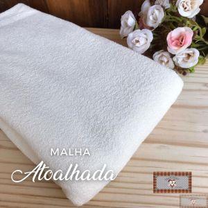 MALHA ATOALHADA BABY - CREME (1 X 1 MT)