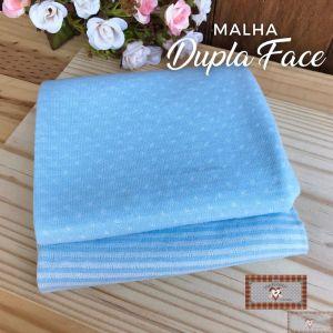 VTR - MALHA DUPLA FACE - AZUL (50X80CM)
