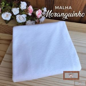 MALHA MORANGUINHO - BRANCA (50X80CM)