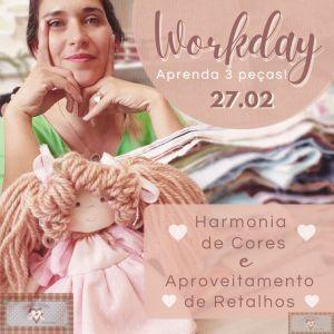 Workday 2 - Harmonia de Cores e Aproveitamento de Retalhos