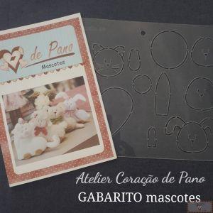 GABARITO MASCOTES - BONECA COMIGO!
