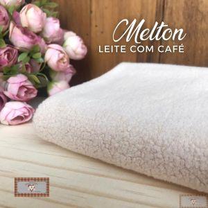 MELTON / UNIFLOCK -  LEITE COM CAFÉ (50 X 80 CM)