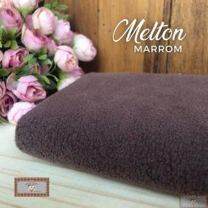 MELTON / UNIFLOCK -  MARROM (50 X 80 CM)