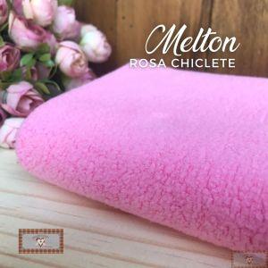 MELTON / UNIFLOCK -  ROSA CHICLETE (50 X 80 CM)