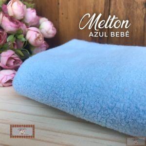 MELTON / UNIFLOCK -  AZUL (50 X 80 CM)