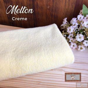 MELTON / UNIFLOCK -  CREME (50 X 80 CM)