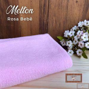 MELTON / UNIFLOCK -  ROSA BEBE (50 X 80 CM)