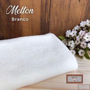 MELTON / UNIFLOCK -  BRANCO (50 X 80 CM)