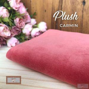 PLUSH LISO - CARMIN (50X80CM)
