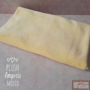 PLUSH LISO - AMARELO MÉDIO (50X80CM)