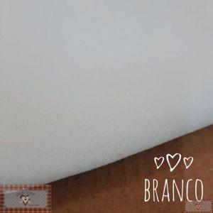 PLUSH LISO - BRANCO (50X80CM)