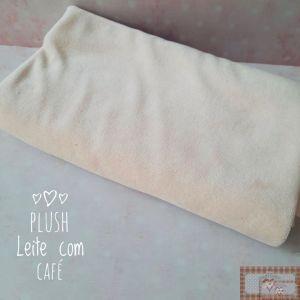 PLUSH LISO - CAFÉ COM LEITE (50X80CM)