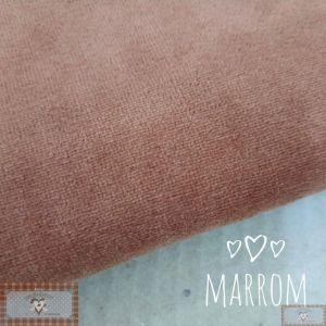 PLUSH LISO - MARROM (50X80CM)
