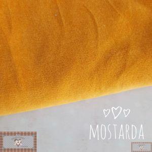 PLUSH LISO - MOSTARDA (50X80CM)