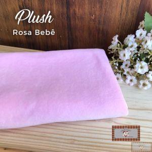 PLUSH LISO - ROSA BEBÊ (50X80CM)