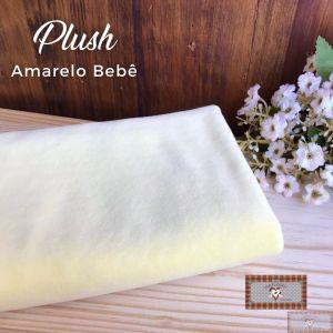 PLUSH LISO - AMARELO BEBÊ (50X80CM)
