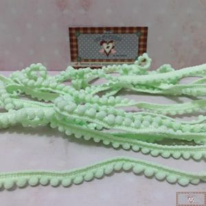 POMPOM (GRELOT) CANDY COLORS VERDE - 2MT