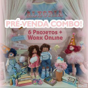 PRÉ-VENDA: Combo Digital Alegria + Workshop Online