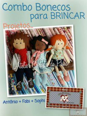 Projeto Digital - Combo Bonecas para Brincar