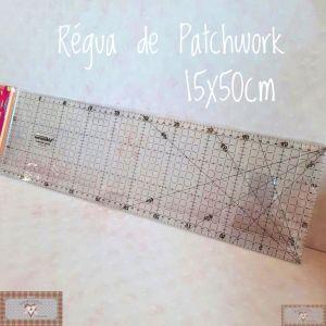 RÉGUA DE PATCHWORK (15X50CM)