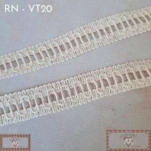 RN - VT20 - RENDA FINA CRU (L: 1,5CM) - 1MT