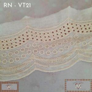 RN - VT21 - BORDADO INGLÊS TINGIDO POÁ (L: 7CM) - 1MT