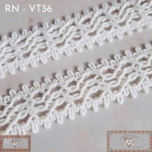 RN - VT36 - RENDA CURVAS OFF WHITE (L:2,5CM) - 1MT