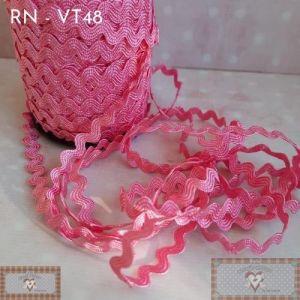 RN - VT48 - SIANINHA CLÁSSICA ROSA PINK  (L:1CM) - 1MT