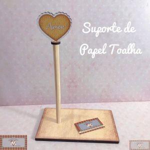 SUPORTE DE PAPEL TOALHA - AMOR