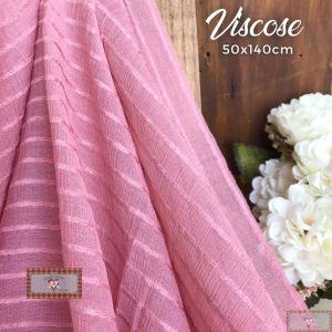 ROSE - TECIDO VISCOSE ESPECIAL - (50X140CM)