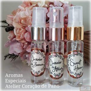 COMBO 3 CHEIRINHOS ESPECIAIS - BONECA, ATELIER E SWEET HOME